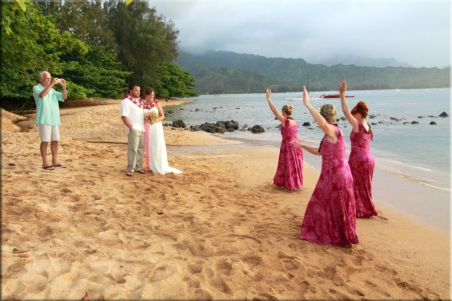 Princeville Wedding
