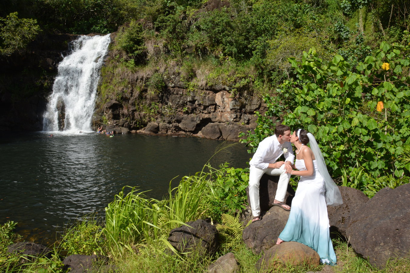 Waterfall Wedding